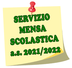 Servizio di Mensa Scolastica a.s. 2021-2022 - Comune di Cornedo Vicentino