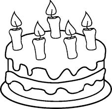Birthday Cake Coloring Pages Free Birthday Coloring Book Printable