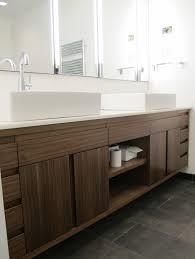 sliding cabinet doors for bathroom. inspiring wooden floating bathroom vanity cabinet with sliding doors for o