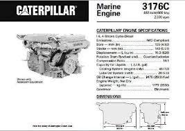 cat 3176 3196 engine specs bolt torques repair manuals p1 of cat 3176 marine spec sheet