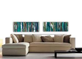 large wall art 18x96 colorful art print abstract landscape tree art canvas painting turquoise teal art on extra large wall art teal with the 123 best extra large wall art oversized wall art original