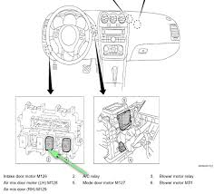 where is the ac compressor relay located on a altima nissan graphic