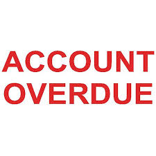Overdue Account Colop Green Line Stamp Account Overdue Huntoffice Ie