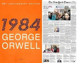 1984 Vs Today Chart Teaching Orwell And 1984 With The New York Times The New