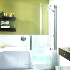 best shower tub combo bathtub combos innovative walk in combination dimensions