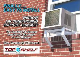 ac support bracket ez installation . Air Conditioner Support Bracket Installation Ac Window Unit Home