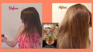 garnier olia light blonde hair color review