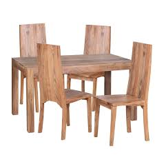 Finebuy Esstisch Massivholz Akazie 140 Cm Esszimmer Tisch Avec