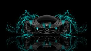 mercedes benz biome fantasy water car