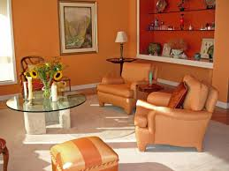 burnt orange and brown living room. Burnt Orange And Brown Living Room Concept : Green Decor I