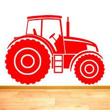 Rubybloom Designs Tractor Farm Vehicle Boys Wall Sticker Art Decal Vinyl