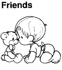 Small Picture I Love My Best Friend Coloring Pages Coloring Pages