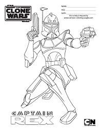 Clone Wars Coloring Pages Printable 2029741
