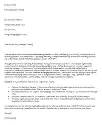 Marketing Cover Letter Sample 66 Cover Letter Samples And Correct Format To Write It
