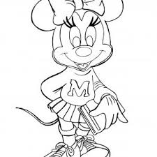 Small Picture Printable Minnie Mouse Coloring Pages For Kids Pages adult