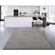 cozy collection gray 7 ft x 9 ft indoor area rug