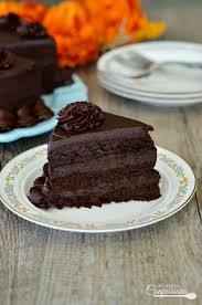ultimate homemade chocolate cake is the best recipe ever it is so moist and very iva chocolate cheesecake