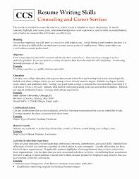 Examples Of Special Skills For Resume Actor Resume Template Lovely Resume Special Skills Examples Examples 5