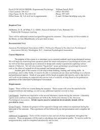 psych w mwr experimental psychology william farrell psych 213w 0234 1m4wr experimental psychology william farrell ph d