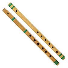 ShalinIndia Indian <b>Bamboo</b> Flute Bansuri, <b>Set of 2</b>, Fipple ...