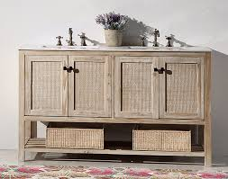 Bathroom Vanity Double Beauteous Dora Soo Collection 48 Solid Wood Sink Vanity With MarbleNo Top