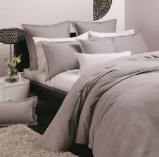 Ascot Pewter Quilt Cover Set by Platinum Collection &  Adamdwight.com