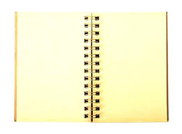 Diary Page Template Blank Journal Template