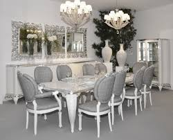 gray and white dining room ideas. excellent brizoni glass dining table with white armani chairs within grey and modern gray room ideas h