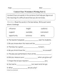 7th Grade Grammar Worksheets   Homeshealth.info