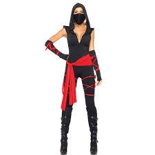 Ninja Suit Size Chart Halloween Anime Ninja Costume Cosplay Ninja Onesies Stage Costume Game Uniforms Including Tops Pants Gloves Mouth Muffle Costume Accessories