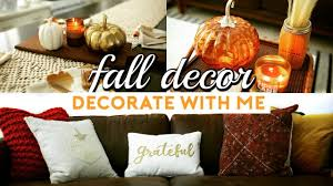 Small Picture FALL DECOR SHOPPING DECORATE WITH ME AUTUMN HOME DECOR HAUL