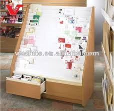 Wooden Greeting Card Display Stand Floor Standing Greeting Card Display Stands for Retail Shop View 19