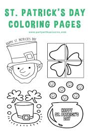 St Patricks Day Coloring Coloring Pages St Patrick Day Coloring Sheets Pages