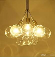 modern art glass chandelier led pendant light for living room bar ac85 265v g4 bulb hanging crystal pendant lamp fixtures hanging lights ceiling light