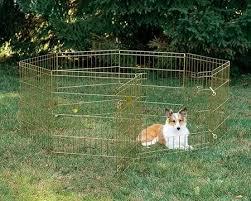 <b>Вольер</b> для животных <b>Midwest</b> 8 панелей позолоченный цинк ...