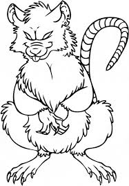 Small Picture Rat coloring page Animals Town animals color sheet Rat