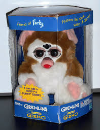 Furby Sales Chart Electronic Interactive Gizmo Gremlins Toy Instructions Box