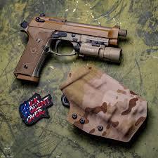 Beretta M9a3 Holster With Light