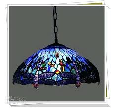 stained glass pendant light style dragonfly stained glass pendant light living room dining room chandelier kitchen stained glass