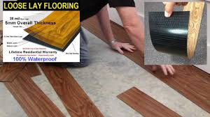 supreme elite freedom gold series river walk waterproof loose lay vinyl plank with loose lay installation it s never been easier to bring the trendy