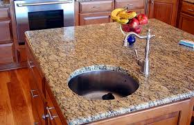 offers a wide range of kitchen countertops including solid surface granite and quartz we also have a selection of edge treatments integral sinks