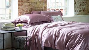 gingerlily pink silk duvet cover set at luxdeco