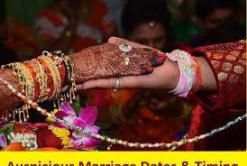 Auspicious Marriage Dates Timing In 2019 Learn Astrology