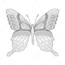 Kleurplaten Voor Volwassenen Vlinders Ezu04 Agneswamu With Glas