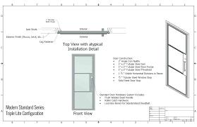 how to build an exterior door frame hollow metal door frame installation beautiful steel frame doors