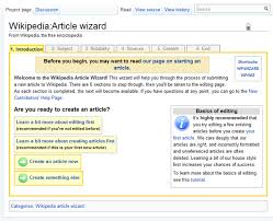 Wikipedia Create Help Wikipedia The Missing Manual Editing Creating And