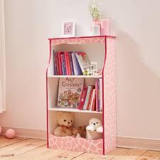 teamson kids childrens girls wooden bookcase book shelf tidy storage td 12471p
