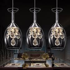 modern crystal wine glasses chandelier