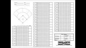 Softball Pitching Chart Template How To Use Coachataclicks Pitching Charts