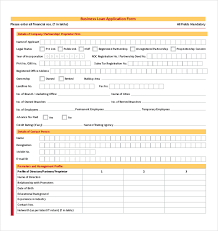Business Forms Templates Adorable Business Loan Application Form Business Form Templates